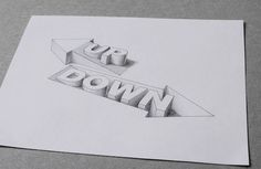 Awesome 3D Typography Creates Optical Illusions Of Liquid-Filled Hollow Letters - DesignTAXI.com