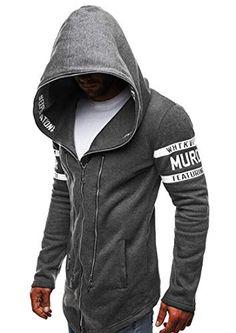 Generic Fashion Zippers Sweatshirts Jackets Hip Hop Hoodies For Men