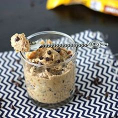 Healthy Chocolate Chip Cookie Dough by Rayna