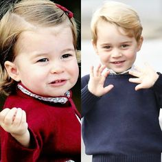 Will and Kate make beautiful babies, don't they ❤ I am so sad we see them so rare,I think the next time we'll see them is Christmas #weadmireprincesscharlotte #weloveyoulittlegirl #weadmireprincegeorge #weloveyoulittleman