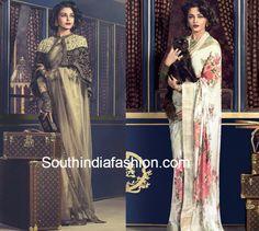 Aishwarya Rai in Sabyasachi sarees for traveller photoshoot