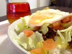 野菜モリモリ、チリソースでピリッと♪ - 4件のもぐもぐ - タコライス by mamarika
