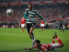 Mais um golo de Slimani v Benfica na Liga 2015-16 8.ª jornada