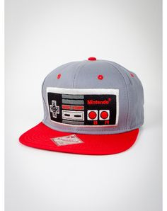 Party points to ME! I just found the Nintendo Controller Snapback Hat from Spencer's. Visit their mobile website to get this item and more like it.