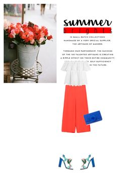 """""""Untitled #374"""" by duoduo800800 ❤ liked on Polyvore featuring Madewell, Paul Andrew and summerbrights"""