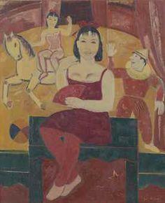 Gustave De Smet (1877-1943), De Kunstrijdster via Christie's