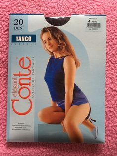 Conte elegant Pantyhose TANGO 20 Den.
