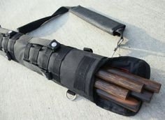 Escrima Tactical Arnis Carrying Case 2.5 Feet Long (Stealth Black) by Arnis Authority. $19.95. This tactical carrying case is the most ideal way to haul your arnis sticks.  The extra built in padding and super sticky Velcro allows you to haul your sticks silently and securely.   Both sides of the bag has MOLLE straps allowing you to attach other gear.