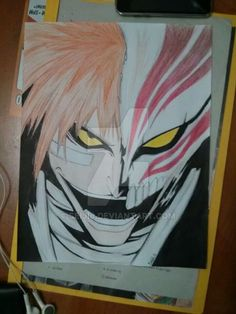 my hollow ichigo fanart by seiji0.deviantart.com on @DeviantArt