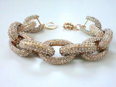 BRACELET 118 - $35 Link Bracelets, Jewelry Bracelets, Jewelry Watches, Bangles, Jewelry Box, Jewlery, Virtual Closet, Bling Bling, Fun Stuff