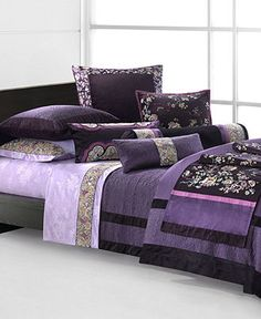 Natori Bedding, Imperial Palace Collection - This bedding set woud make you feel very tranquil and just stunning to look at