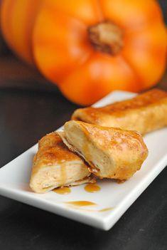 Pumpkin Cheesecake Chimichangas