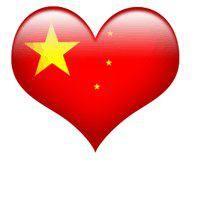 China en el corazón