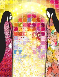 Tanabata / Orihime and Hikoboshi Japanese Mythology, Tanabata, Folk, Forks, Folk Music