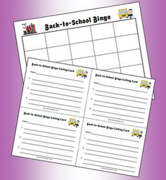 Classroom Freebies: Play Back-to-School Bingo to Learn Names! Name Activities, Back To School Activities, School Games, School Ideas, Back To School Night, 1st Day Of School, Beginning Of The School Year, Sunday School, Classroom Freebies