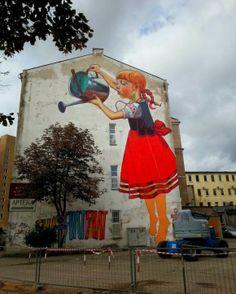 Graffiti Artists   Urban Art & Street Art Murals : Vol 7 #graffitiartists #urbanart #streetart #graffiti #murals #nataliarak