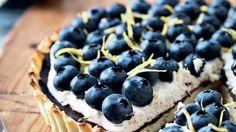 Tærte med blåbær og mascarponecreme | Femina // cake + desert