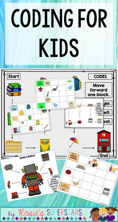 Coding without technology! These unplugged coding activities are perfect for elementary students to build their critical thinking and problem solving skills.