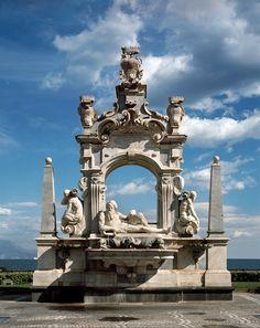 Napoli - Fontana del Sebeto a Largo Sermoneta, 1635.