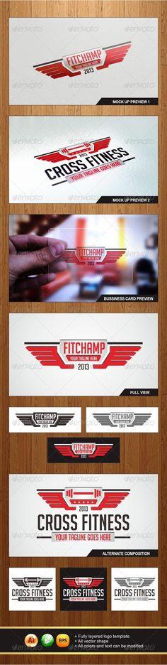 FitChamp Logo - Graphicriver
