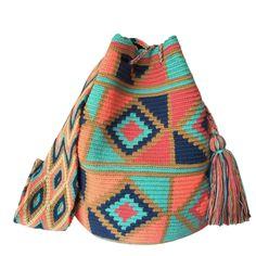Domain Default page Tapestry Bag, Tapestry Crochet, Mochila Crochet, Crochet Bags, Tribal Patterns, Crochet Fashion, Handicraft, Bucket Bag, Boho Fashion