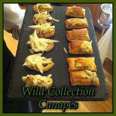 A selection of our Wild Collection canapes which Pat created for our corporate night Oct. Canapes, Dublin, The Selection, Night, Kitchen, Collection, Food, Cuisine, Meal