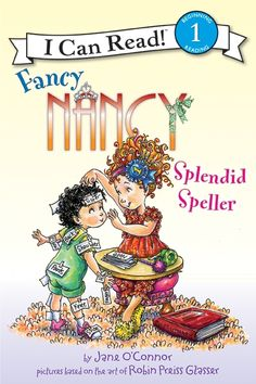I Can Read Book 1 Fancy Nancy: Splendid Speller    By Jane O'Connor / Available at www.BookLodge.com - Lowest Priced English and Chinese Online Bookstore for Children and Parents Worldwide