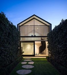 Located in Elwood Melbourne Australia this stunning home was designed by Three C Architects. Photography credit: Tom Roe @tomroephotog.