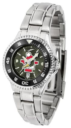Youngstown State Penguins Competitor Ladies' Steel AnoChrom Watch