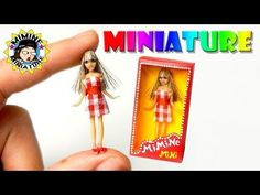 (ENG)미니어쳐 수세미 & 세제 만들기 Miniature - Dishwashing / 미미네 미니어쳐 - YouTube