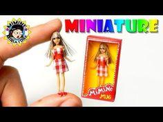 미니어쳐 바비인형 만들기 Miniatures Barbie Doll 미미네미니어쳐 ミミネミニチュア - YouTube