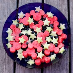 #Disneyside Mickey Mouse Fruit Salad