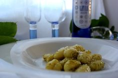 Gnocchi al Pesto. Cocinando con las chachas Blog.