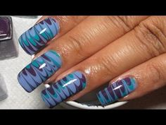 Butter London Water Marble Nail Art Tutorial. Colette teaches you a ton of great water marble tutorials.