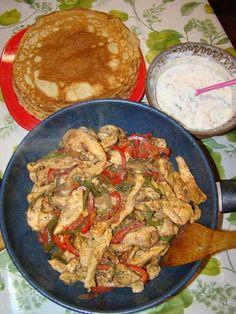 Kefir, Fajitas, Kung Pao Chicken, Ethnic Recipes, Food, Dukan Diet, Essen, Meals, Yemek