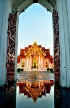 {Photograph Wat Benchamabophit,The Marble Temple , Bangkok, Thailand by Atipan Khantalee (Thailand) on 500px}