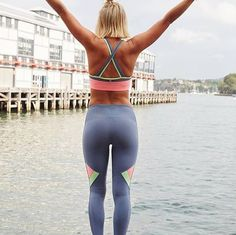 Today is a new day it's time to open your arms to opportunity & your heart to happiness!  @livphyland wears our Tornado F/L Tights - shop yours via www.lornajane.com now! #thisisactiveliving #lornajane #movenourishbelieve #lornajane by lornajaneactive