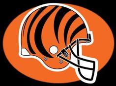 Amazon.com: Cincinnati Bengals Helmet 36x24 Poster Print: Home & Kitchen