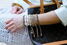 Classy in neutrals! #cruciani #armband www.armband-cruciani.de