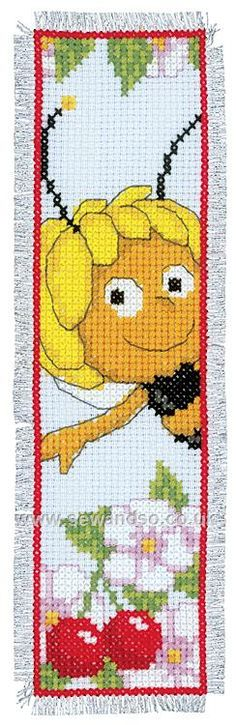 Buy Maja Bookmark Cross Stitch Kit Online at www.sewandso.co.uk