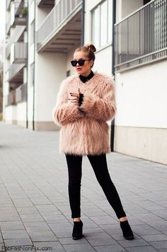 Style Watch: 52 looks with faux fur and fur coats to try this winter | Fab Fashion Fix