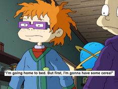 """15 Times Chuckie From """"Rugrats"""" Was Your Life 1990 Cartoons, Animated Cartoons, Comic Book Characters, Comic Books, Fictional Characters, Libra Sun Scorpio Moon, Rugrats Funny, Rugrats All Grown Up, The Wild Thornberrys"""