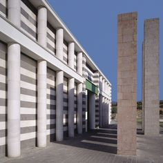 Terranova Shopping Centre, Olbia, Sardinia, Aldo Rossi 1996-7