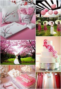 Delightful Spring Wedding Themes http://www.weddingcolorthemes.com/top-wedding-colors-themes/