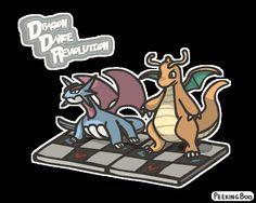 Dragon Dance Revolution (DDR)by PeekingBoo http://tmblr.co/Zw9cgk1xtgM5M