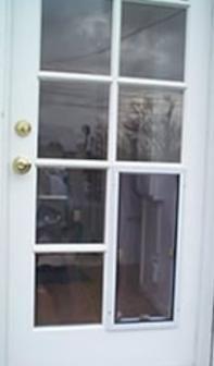 custom pet doors for french doors