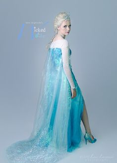 ELSA DRESS for Adults and teens Custom Frozen Costume Elsa Snow Queen Elsa  sc 1 st  Pinterest & Elsa costume cosplay adult dress Frozen Disney princess Queen of ...