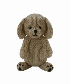 FREE Puppy knitting pattern - Delightful, adorable, soft and cuddly, the Knitables range of gifts, toys and decorations are fun and easy to knit. The pattern has clear row by row instructions and photographs to help you along the way. Download for free at LoveKnitting!