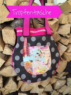 Tropfentasche, farbenmix, Taschenspieler 2, Sew along, by malamü, selbstgenäht, handmade