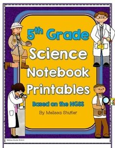 Science Notebook Printables and Activities Superpack- Fifth Grade NGSS